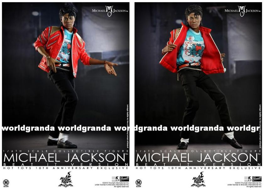 Hot Toys 10th Ltd MICHAEL JACKSON MJ Beat It 12 Figure