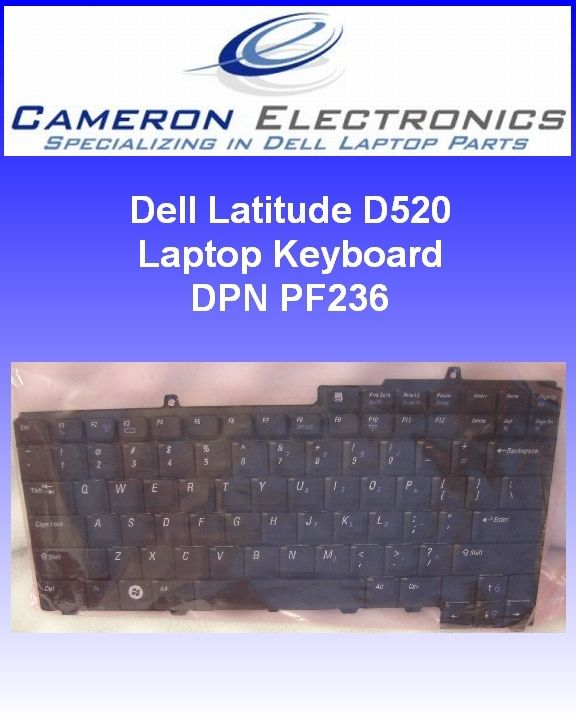 Dell Latitude D520 D530 Laptop Keyboard PF236