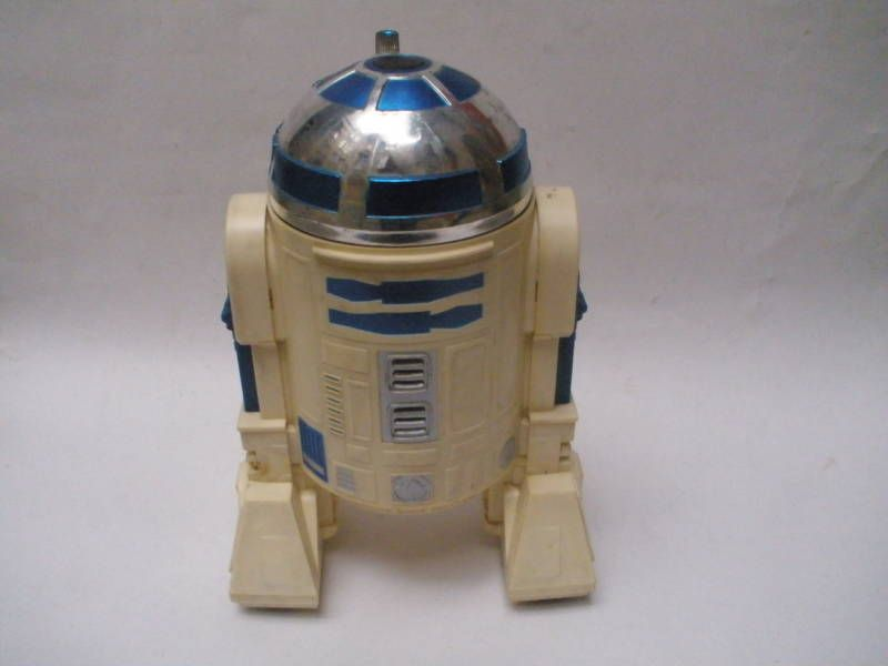 1978 KENNER COMPANY STAR WARS R2 D2 BATTERY TOY MODEL